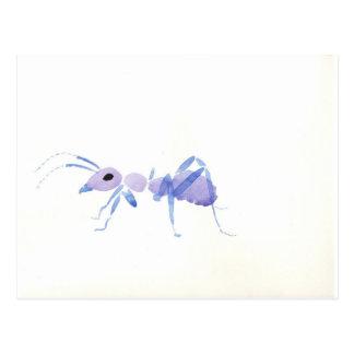 Purple Ant Postcard