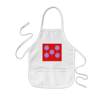 Purple Apple Tree Kids Apron