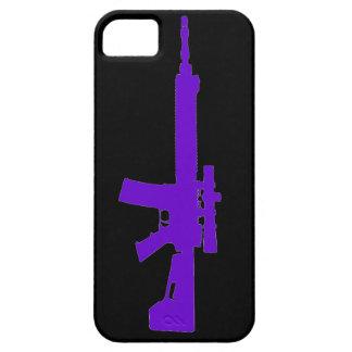 Purple AR-15 iPhone 5 Universal Case