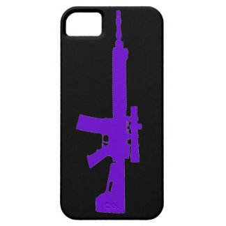 Purple AR-15 iPhone 5 Universal Case iPhone 5 Cases