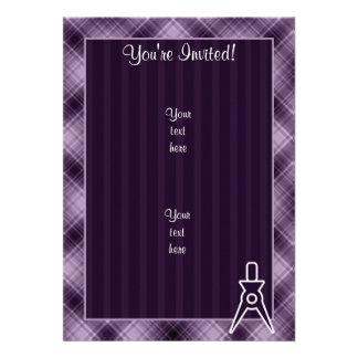 Purple Architect Invitation