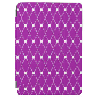 Purple Argyle Lattice iPad Air Cover