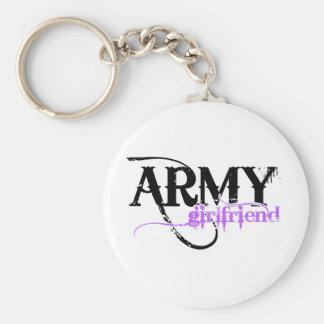 Purple Army Girlfriend Keychain