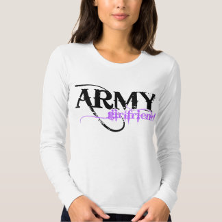 Purple Army Girlfriend Shirt