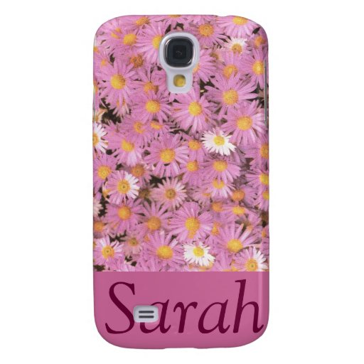 Purple Asters 3G/3GS Phone Case Samsung Galaxy S4 Covers