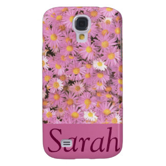 Purple Asters 3G/3GS Phone Case Galaxy S4 Case