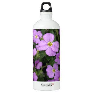 Purple Aubretia Flowers SIGG Traveller 1.0L Water Bottle
