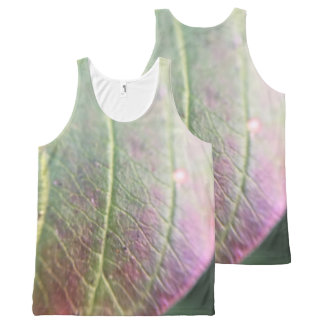 Purple Autumn All-Over Print Tank Top
