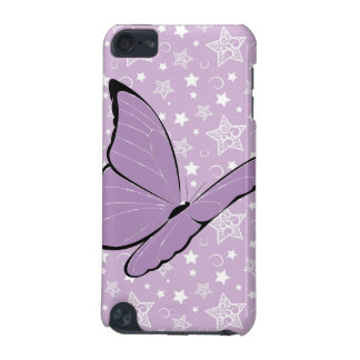 Purple Awareness Butterfly iPod Touch (5th Generation) Cases