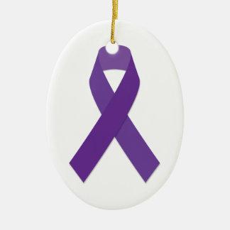 Purple Awareness Ornament