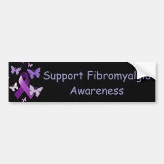 Purple Awareness Ribbon Bumper Stickers