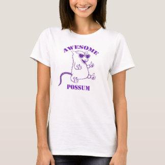 Purple Awesome Possum Tee Shirts