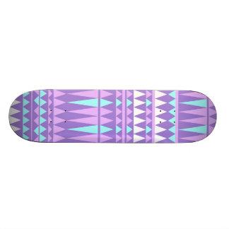 Purple Aztec - Girly Skateboard
