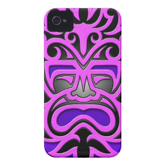 Purple Aztec Mask Blackberry Bold Cases
