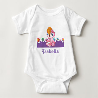 Purple Baby Jersey Bodysuit