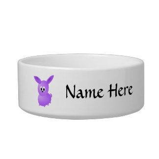 Purple Baby Rabbit. Bowl