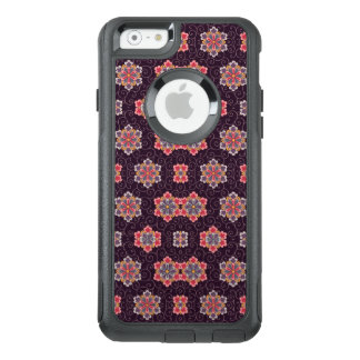 Purple Background Vintage Pattern Floral OtterBox iPhone 6/6s Case