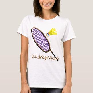 Purple badminton racket T-Shirt