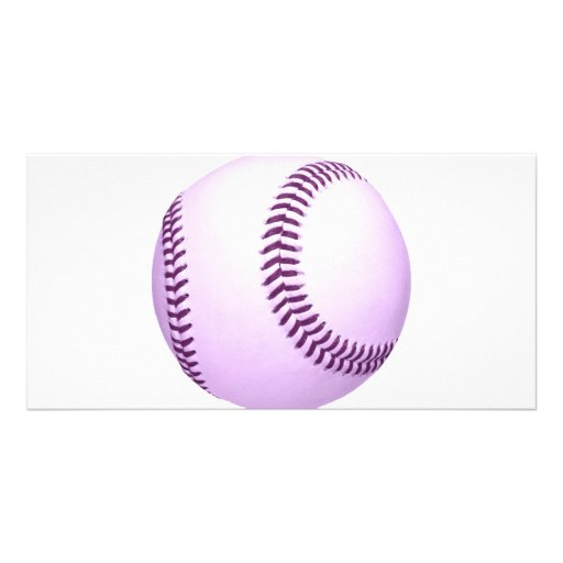 Purple ball picture card