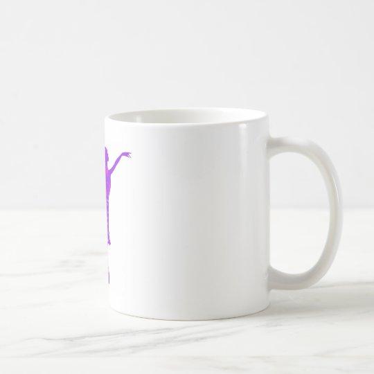 Purple Ballet Dancer New Year Wishes Mug