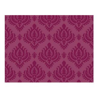 Purple Baroque Postcard