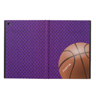 Purple Basketball iPad Air 2 Case with Stand