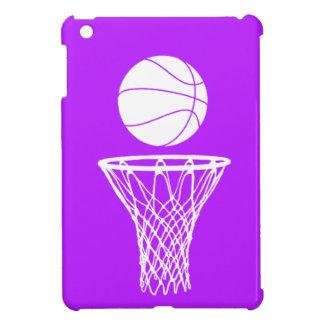 Purple Basketball iPad Mini Case