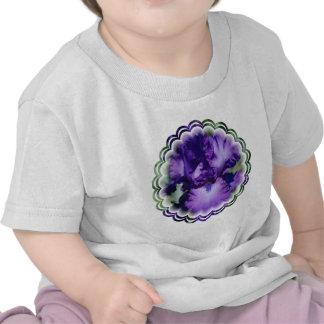 Purple Bearded Iris Baby T-Shirt