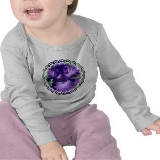 Purple Bearded Iris Infant T-Shirt
