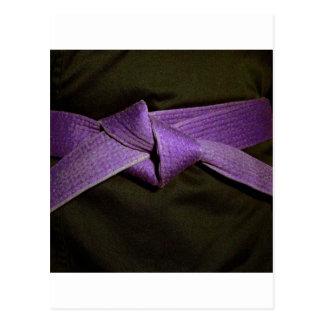 Purple Belt Postcard