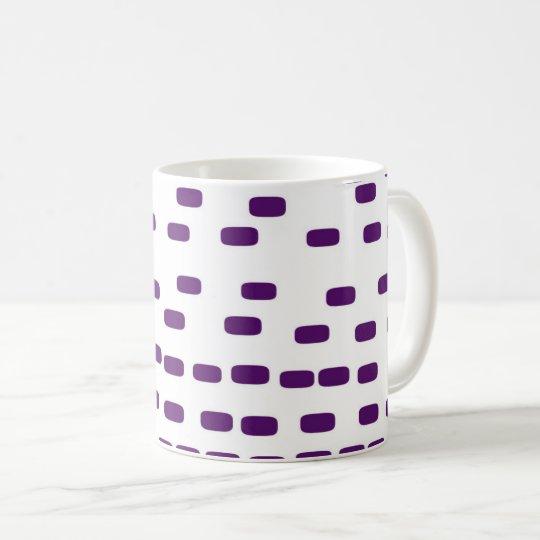 purple big DNA Coffee Mug