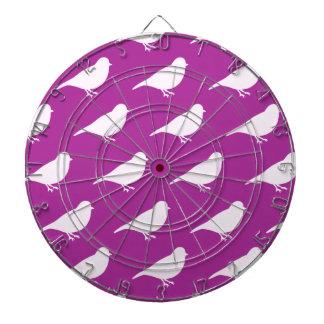 Purple Birds Dartboard