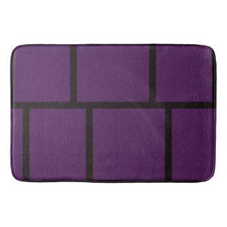 Purple & Black Bath Mats