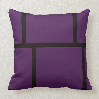 Purple & Black Cushions