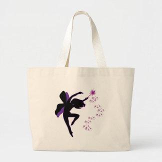 Purple & Black Fairy Bag
