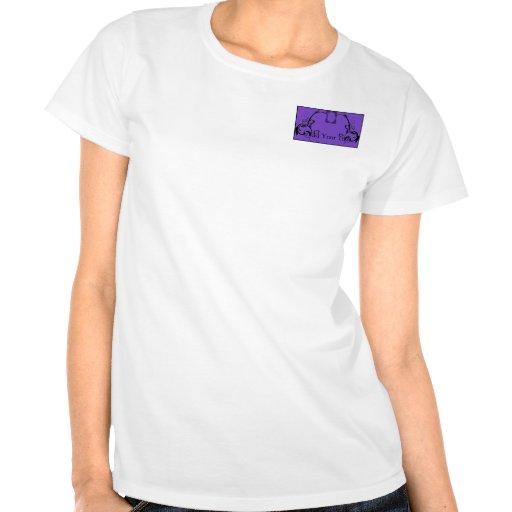 Purple & Black Monogram Filigree Shirts