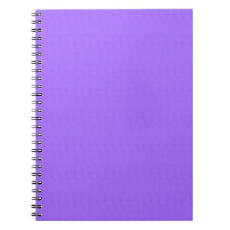 Purple Blank Texture Template DIY add TEXT IMAGE Spiral Notebook