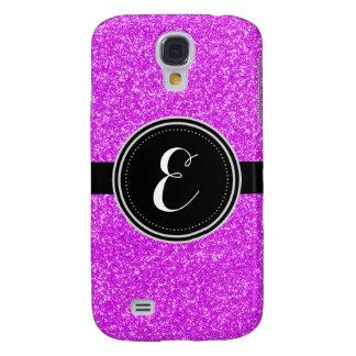 Purple Bling Glitter Personalized Case