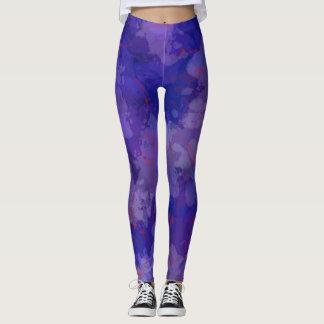 Purple Blizzard Leggings
