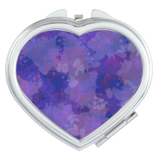 Purple Blizzard Mirrors For Makeup
