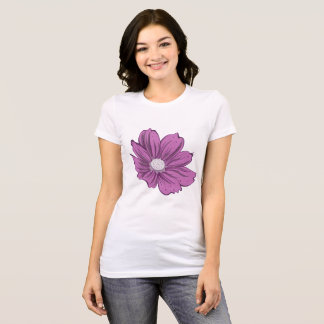 Purple Blooming Flower T-Shirt