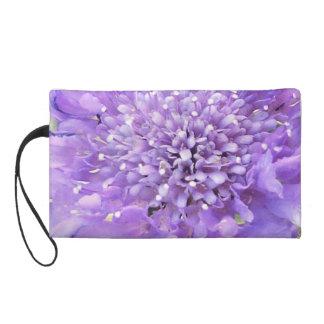 Purple Blossom Cosmetic Bag
