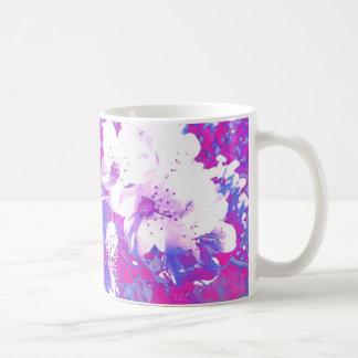 Purple Blossom Mug