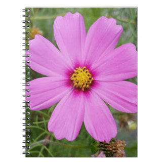 Purple Blossom Notebook (80 Pages B&W)
