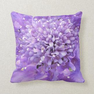 Purple Blossom Pillow Throw Cushions