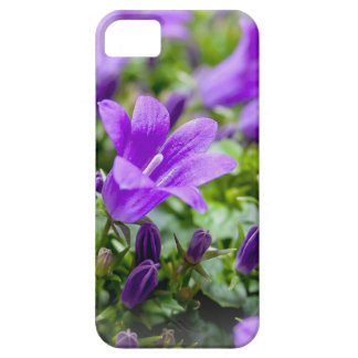 purple blossoms vines plants flora bellflower barely there iPhone 5 case