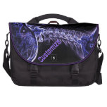 Purple/Blue C-spine Commuter Laptop Bag