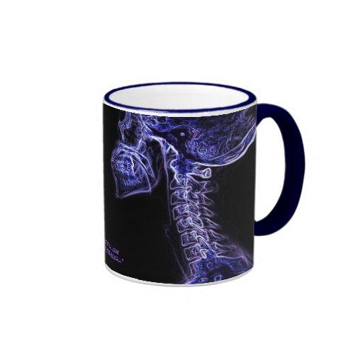 Purple/Blue C-spine (double image) mug