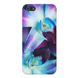 Purple & Blue Dendrobium Orchid Customized Orchids iPhone 5 Covers