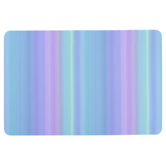Purple Blue Green Floor Mat